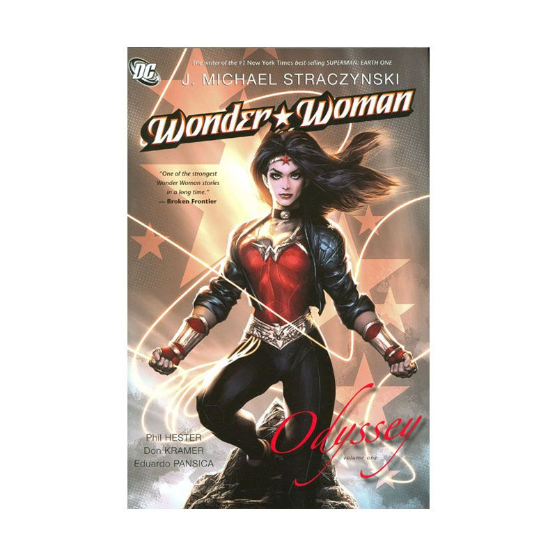 DC Comics Wonder Woman Vol 01 Odyssey HC Buku Komik