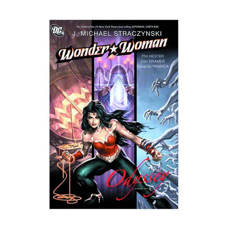 DC Comics Wonder Woman Vol 02 Odyssey HC Buku Komik