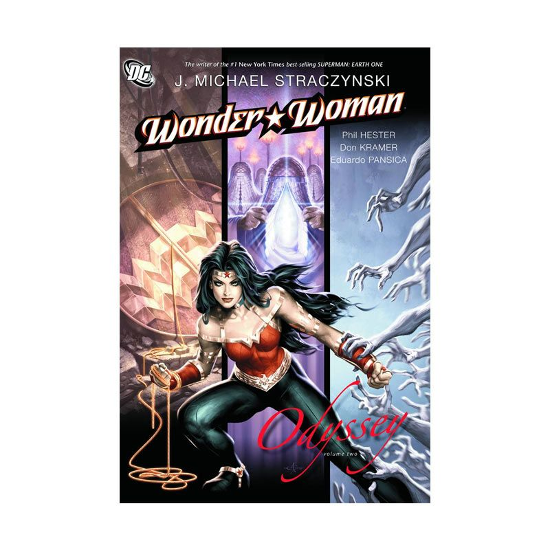 DC Comics Wonder Woman Odyssey Vol 02 TP Buku Komik
