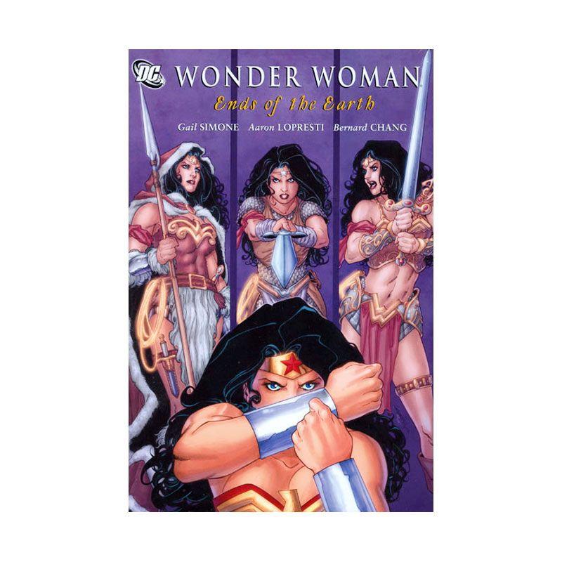 DC Comics Wonder Woman The Ends Of The Earth HC Buku Komik