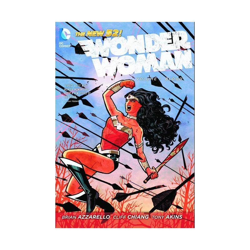 DC Comics Wonder Woman Vol 01 Blood (N52) TP Buku Komik