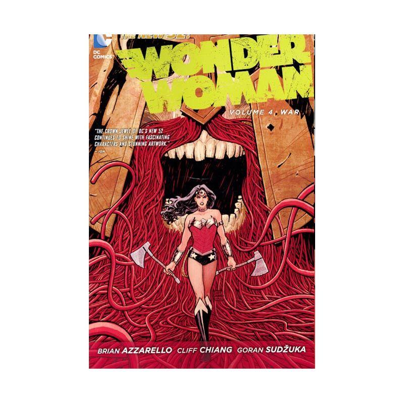 DC Comics Wonder Woman Vol 04 War TP Buku Komik