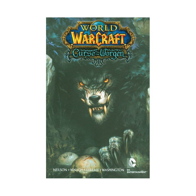 DC Comics World Of Warcraft Curse Of The Worgen TP Buku Komik