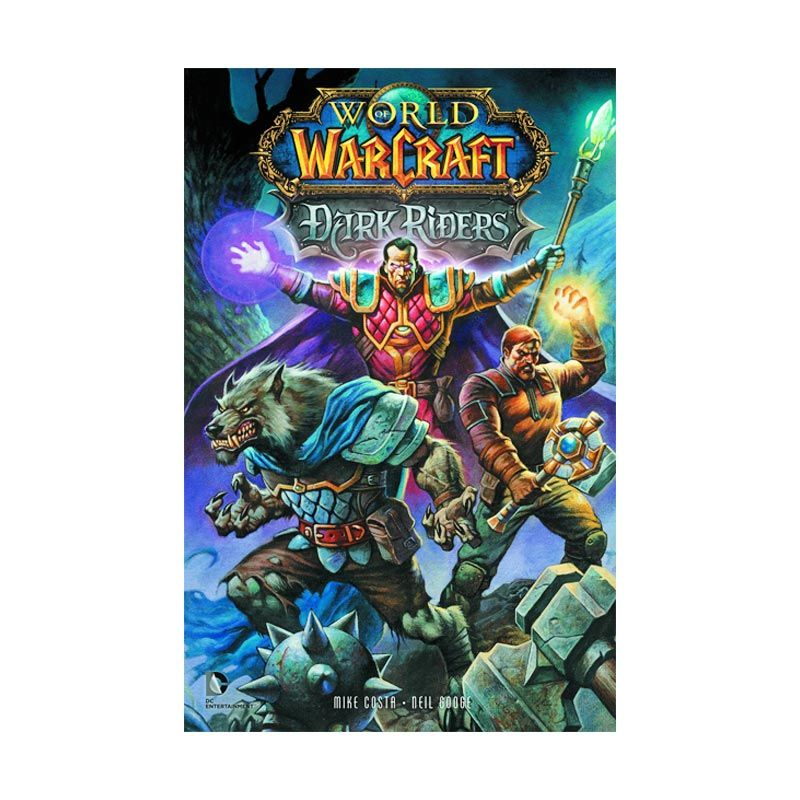 DC Comics World Of Warcraft Dark Riders TP Buku Komik