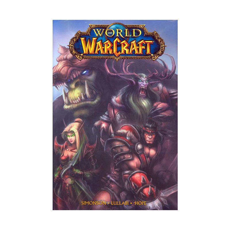 DC Comics World Of Warcraft Vol 01 HC Buku Komik