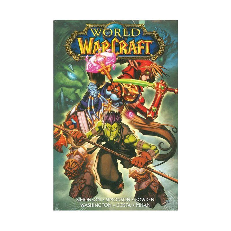 DC Comics World Of Warcraft Vol 04 HC Buku Komik