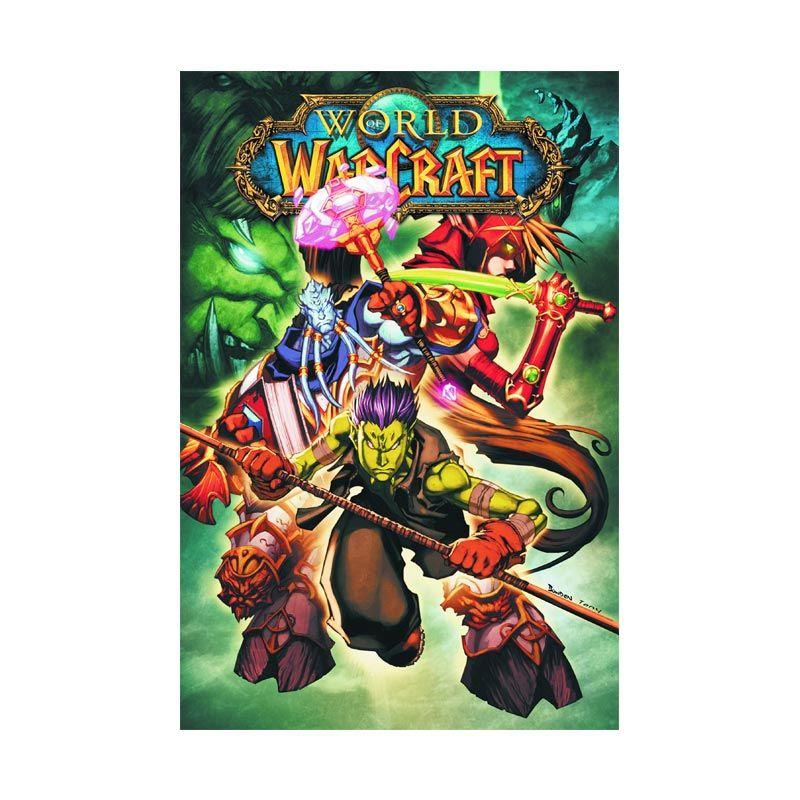 DC Comics World Of Warcraft Vol 04 TP Buku Komik