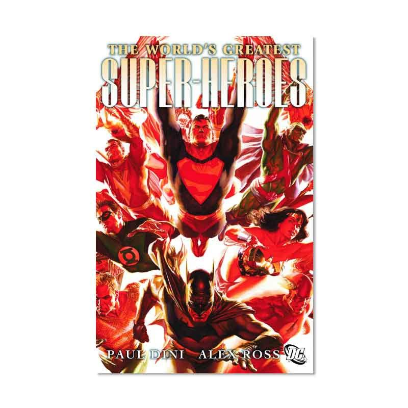 DC Comics Worlds Greatest Super Heroes TP Buku Komik