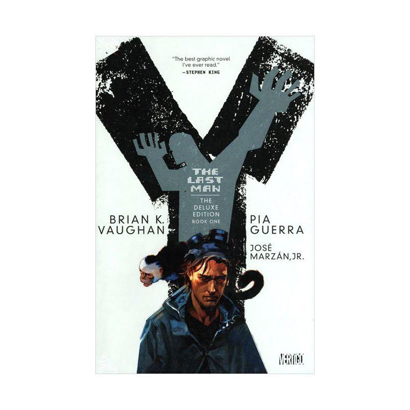 DC Comics Y The Last Man Deluxe Edition HC Vol 01 Buku Komik