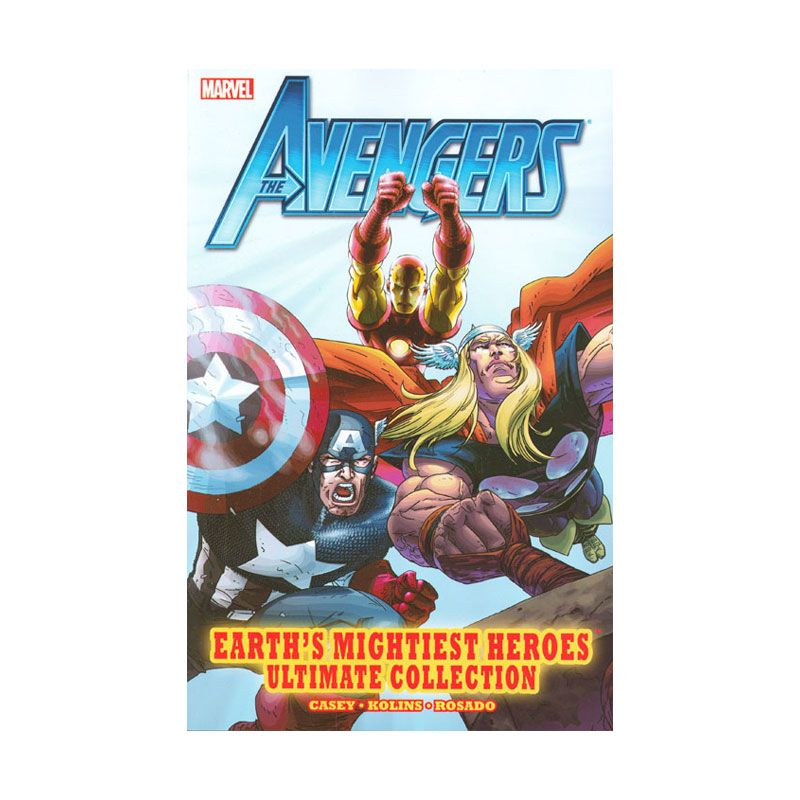 Marvel Comics Avengers Earth's Mightiest Heroes Ult Coll TP Buku Komik