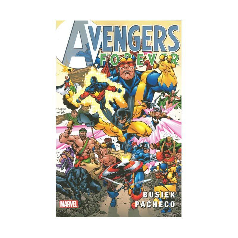 Marvel Comics Avengers Forever TP Buku Komik