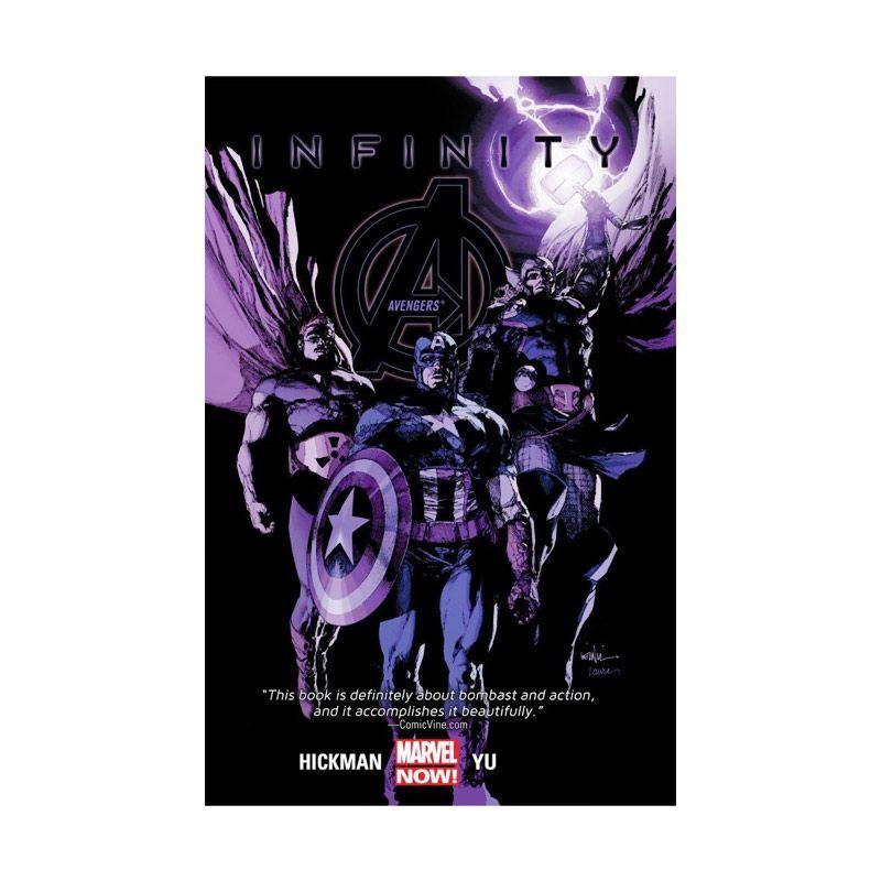 Marvel Comics Avengers Infinity Vol 04 TP Buku Komik