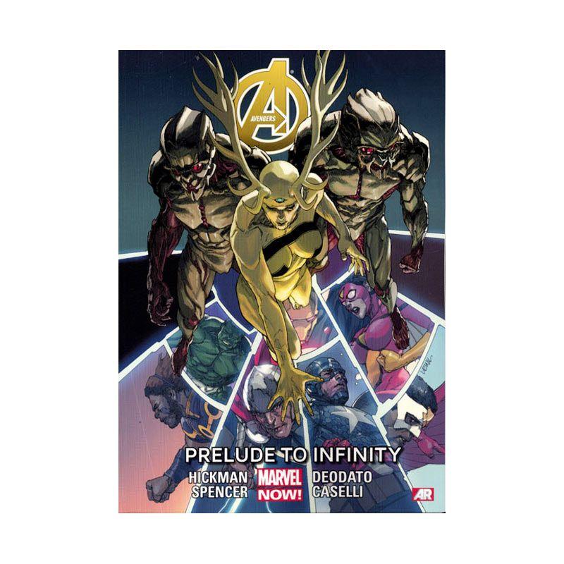 Marvel Comics Avengers Prelude To Infinity Vol 03 TP Buku Komik