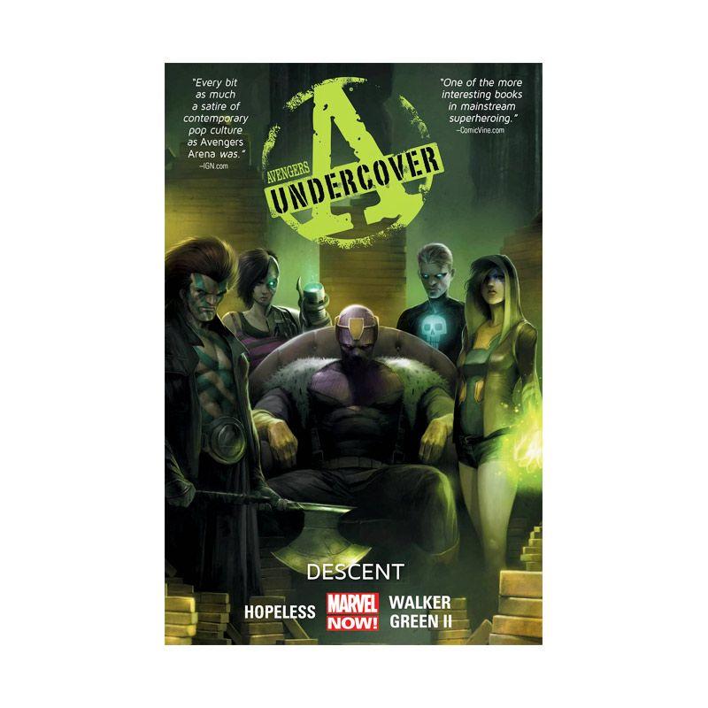 Marvel Comics Avengers Undercover Descent Vol 01 TP Buku Komik