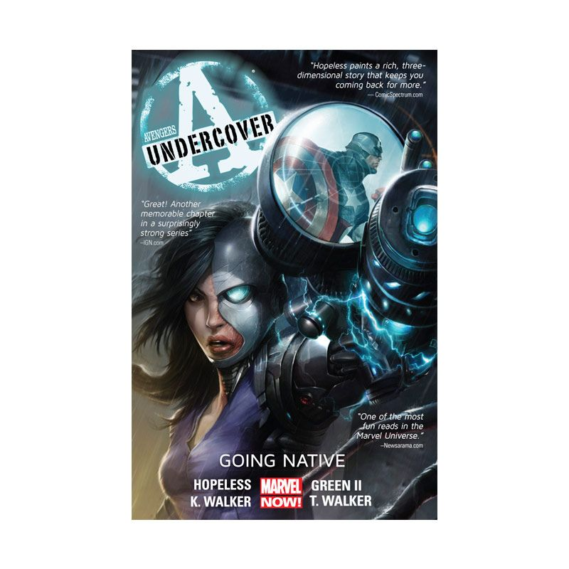 harga Marvel Comics Avengers Undercover Going Native Vol 02 TP Buku Komik Blibli.com