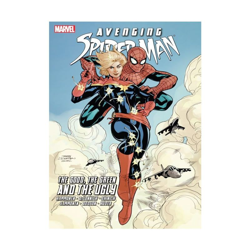 Marvel Comics Avenging Spiderman The Good, The Green, And The Ugly TP Buku Komik