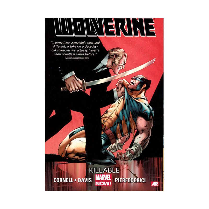 Marvel Comics Wolverine Vol 02 Killable TP Buku Komik