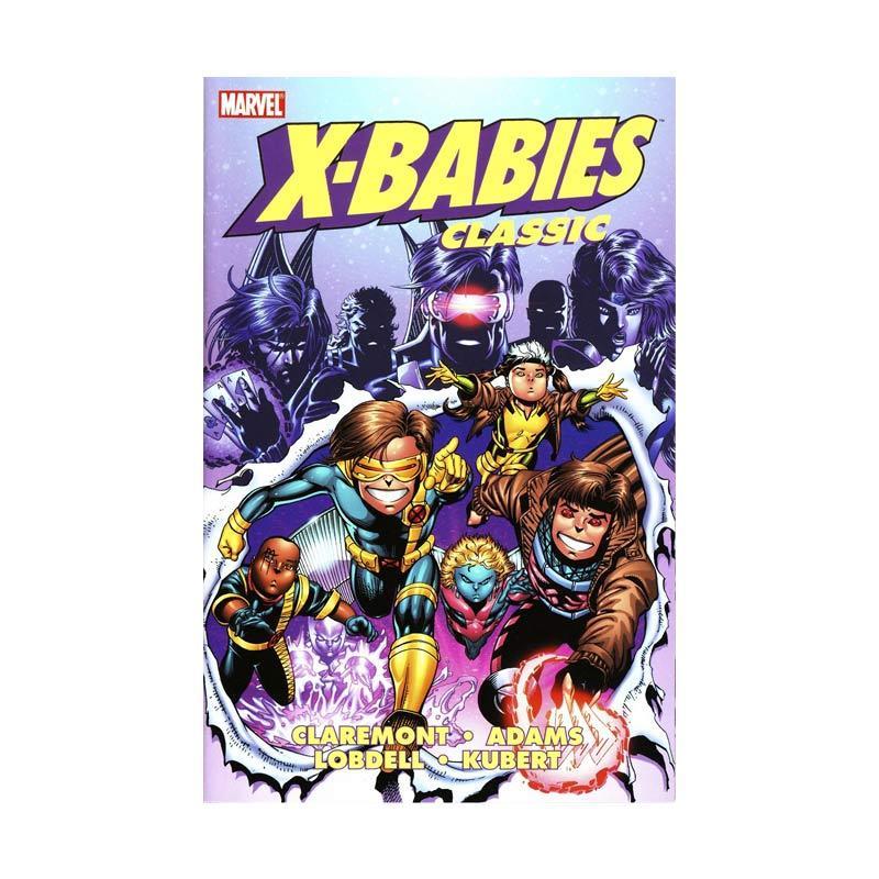 Marvel Comics X-Babies Classic Gn Vol 01 TP Buku Komik