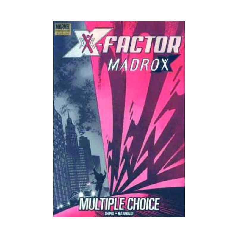 Marvel Comics X-Factor Prem Madrox Multiple Choice HC Buku Komik