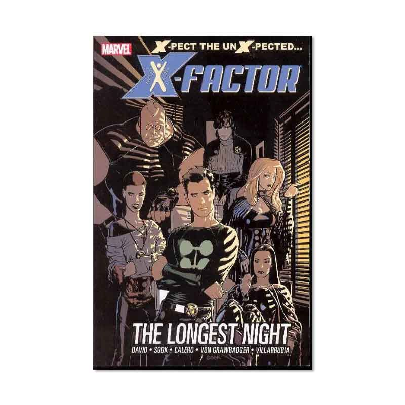 Marvel Comics X-Factor Vol 01 Longest Night HC Buku Komik