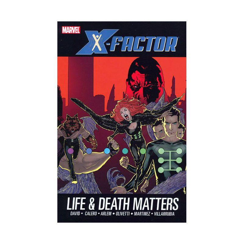 Marvel Comics X-Factor Vol 02 Life And Death Matters HC Buku Komik