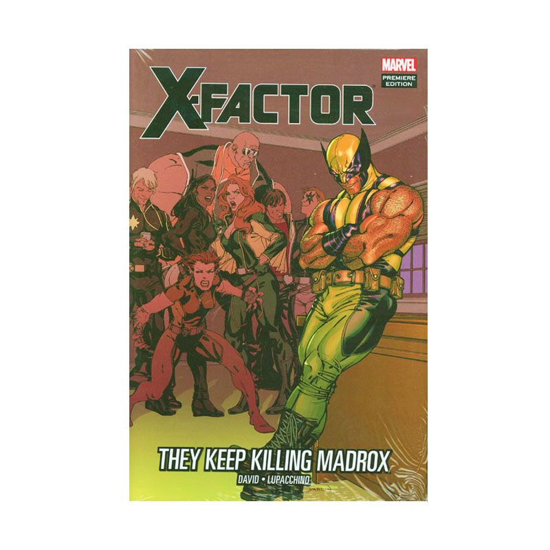 Marvel Comics X-Factor They Keep Killing Madrox HC Buku Komik
