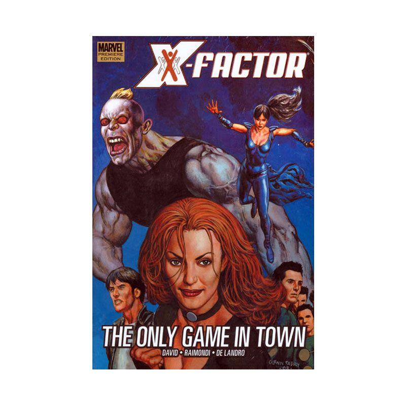 Marvel Comics X-Factor Vol 05 The Only Game In Town HC Buku Komik
