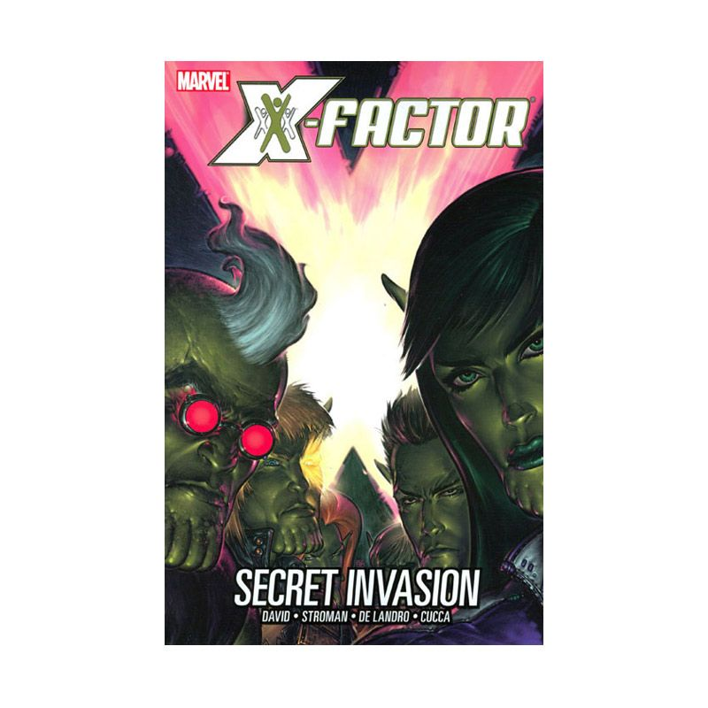 Marvel Comics X-Factor Secret Invasion Vol 06 HC Buku Komik