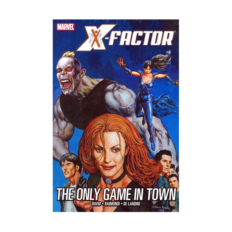 Marvel Comics X-Factor Vol 05 Only Game In Town TP Buku Komik