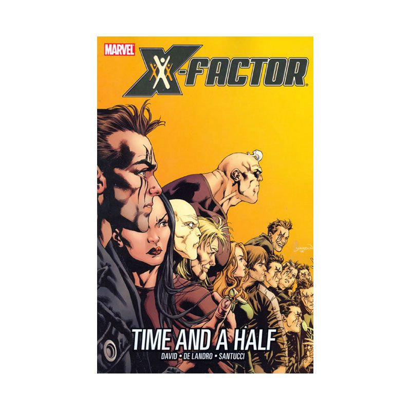Marvel Comics X-Factor Vol 07 Time And A Half TP Buku Komik