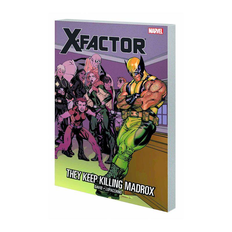 Marvel Comics X-Factor They Keep Killing Madrox Vol 15 TP Buku Komik