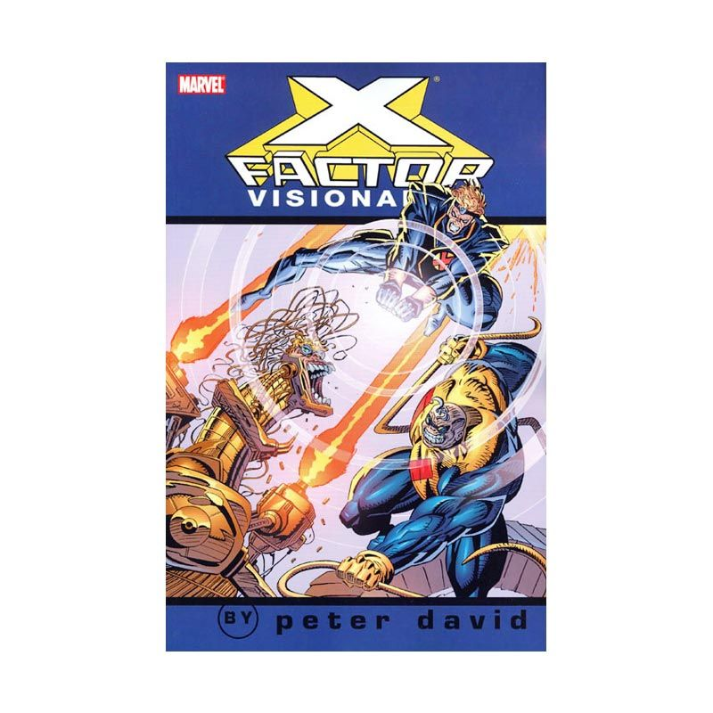 Marvel Comics X-Factor Visionaries Vol 03 TP Buku Komik