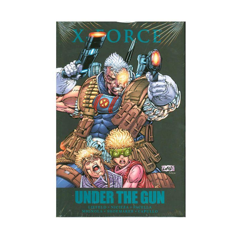 Marvel Comics X-Force Under The Gun HC Buku Komik
