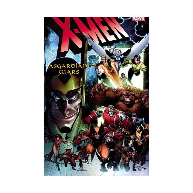 Marvel Comics X-Men Asgardian Wars HC Buku Komik
