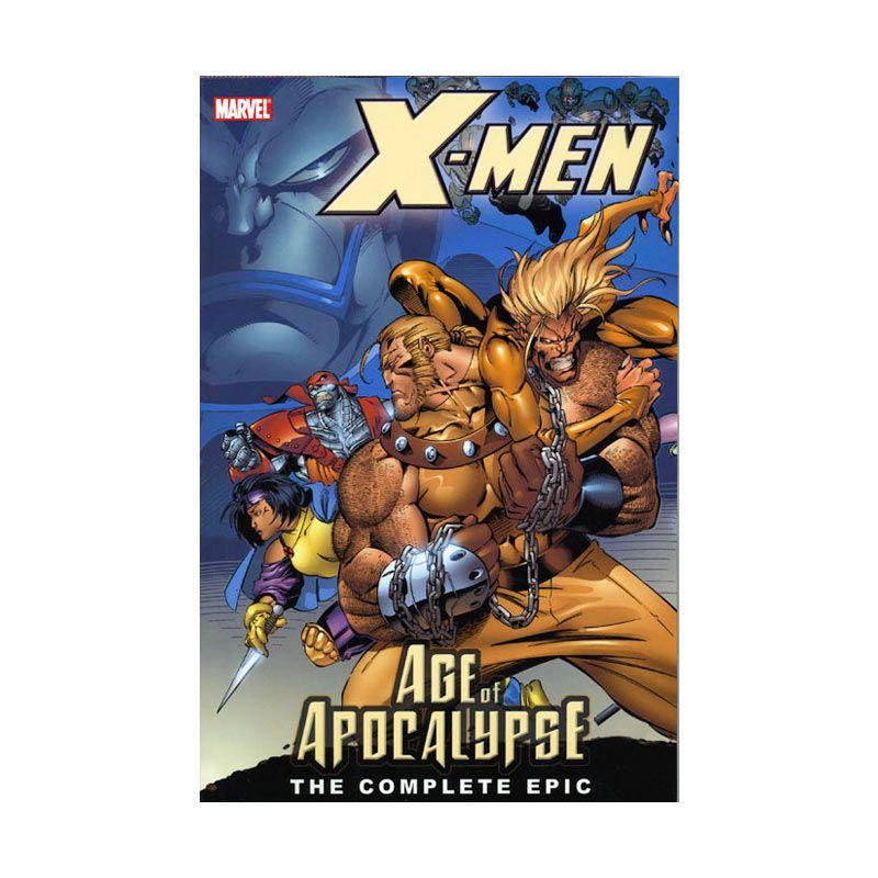 Marvel Comics X-Men Age Of Apocalypse The Complete Epic Book 01 TP Buku Komik