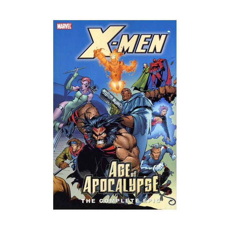 Marvel Comics X-Men Complete Epic Age Of Apocalypse Vol 02 TP Buku Komik
