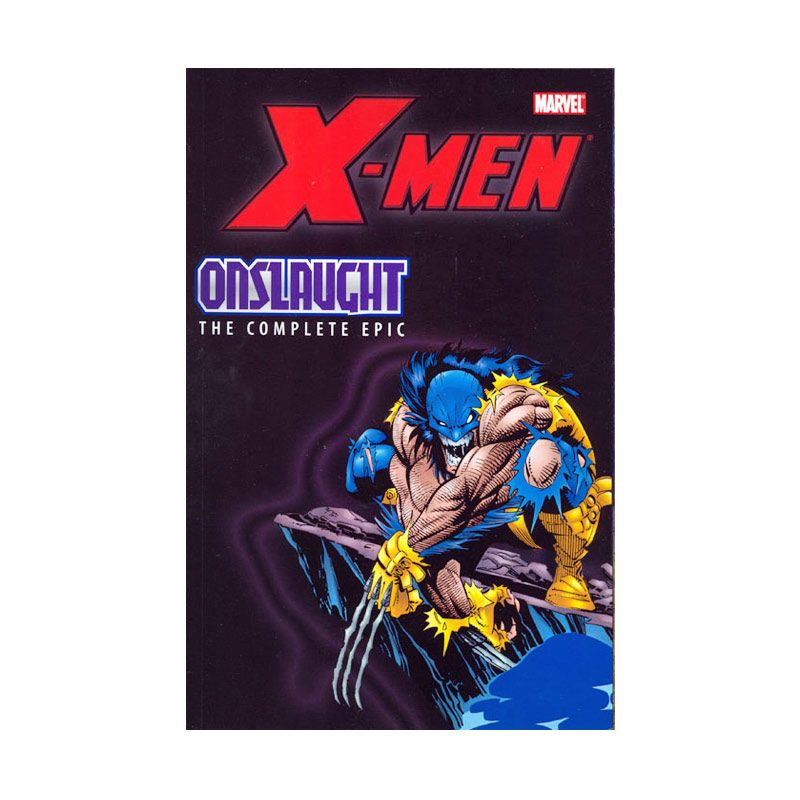 Marvel Comics X-Men Onslaught The Complete Epic Vol 02 TP Buku Komik