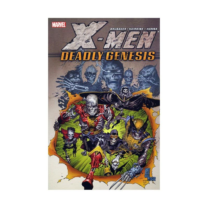Marvel Comics X-Men Deadly Genesis TP Buku Komik