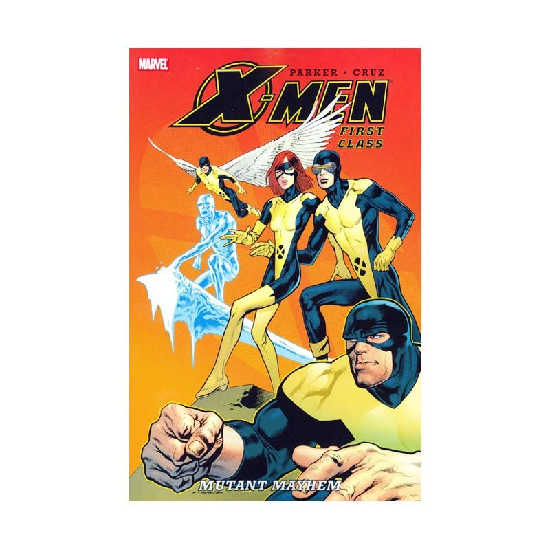 Marvel Comics X-Men First Class Mutant Mayhem TP Buku Komik