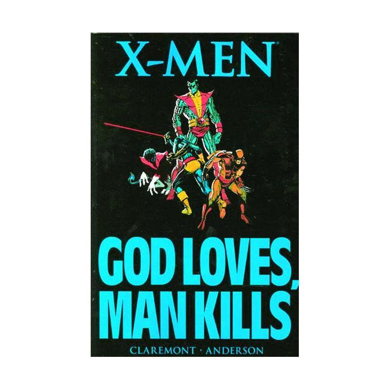 Marvel Comics X-Men God Loves Man Kills Tp Buku Komik