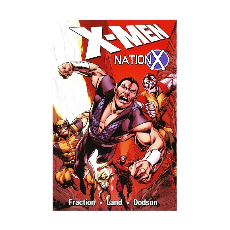 Marvel Comics X-Men Nation X TP Buku Komik