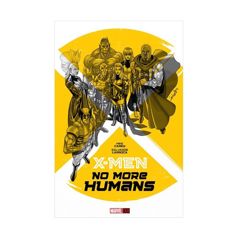 Marvel Comics X-Men No More Humans Ogn HC Buku Komik