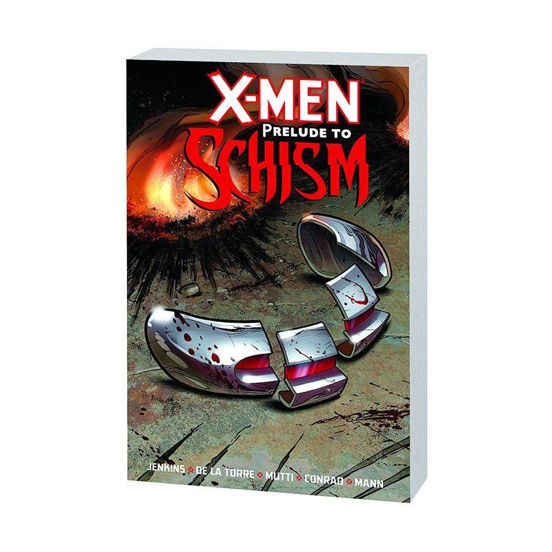 Marvel Comics X-Men Prelude To Schism TP Buku Komik