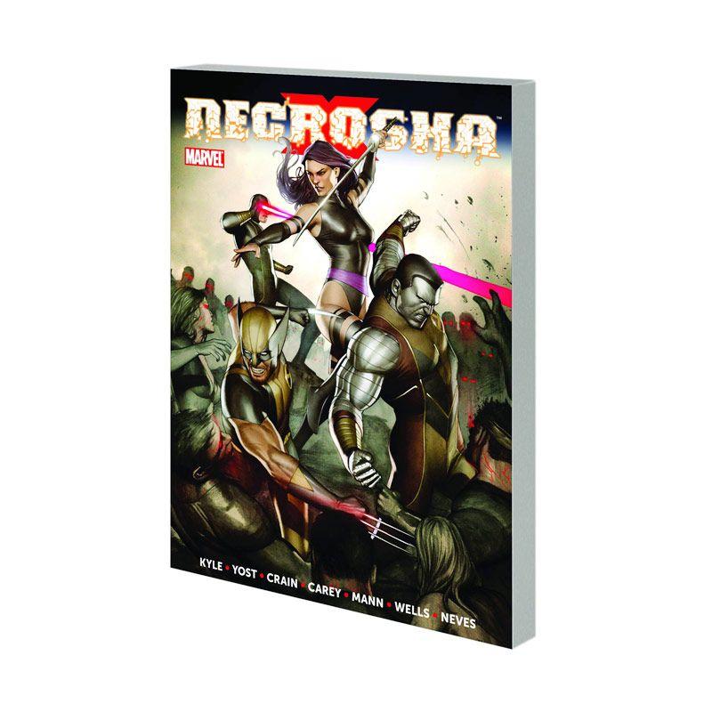 Marvel Comics X-Necrosha TP Buku Komik