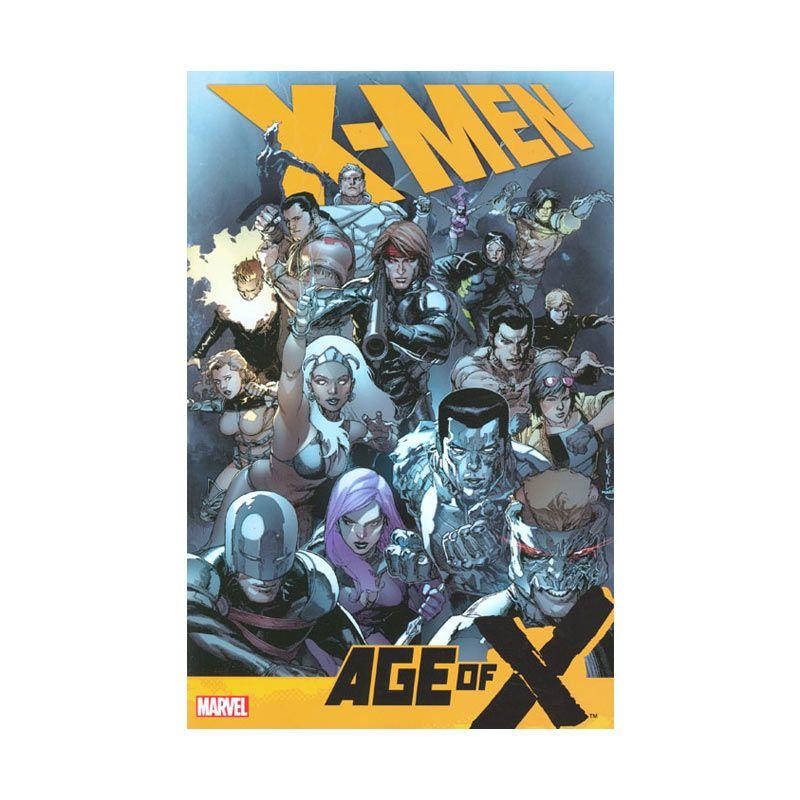 Marvel Comics X-Men Age Of X HC Buku Komik
