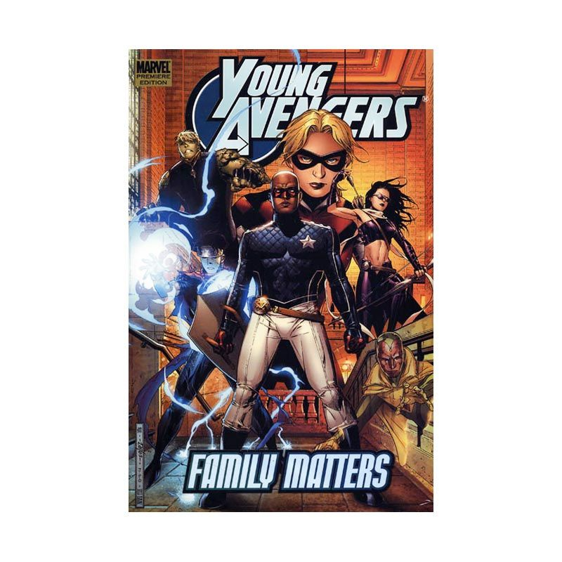 Marvel Comics Young Avengers Vol 02 Family Matters HC Buku Komik