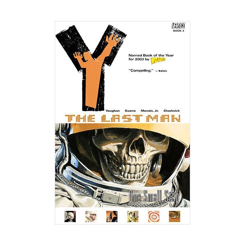 DC Comics Y The Last Man TP Vol 03 One Small Step Buku Komik