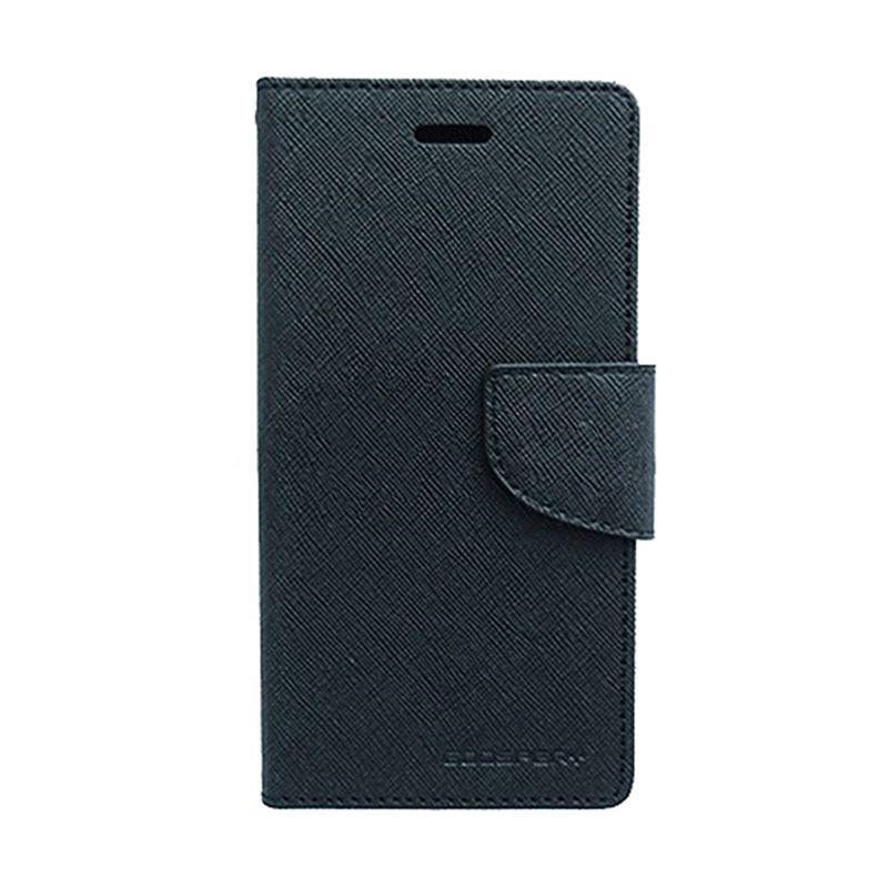 Mercury Goospery Fancy Black Diary Casing for OPPO R5