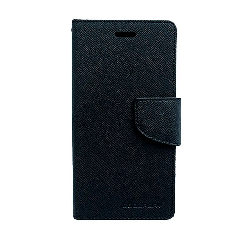 Mercury Goospery Fancy Diary Black Black Casing for LG G Pro 2
