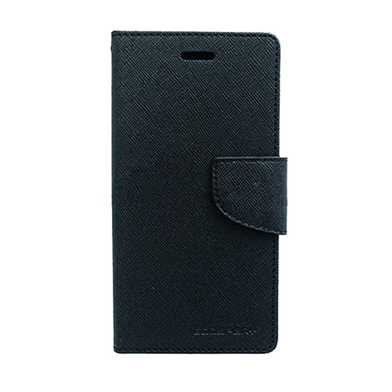 Mercury Goospery Fancy Diary Black Casing for Galaxy Note 3 Neo